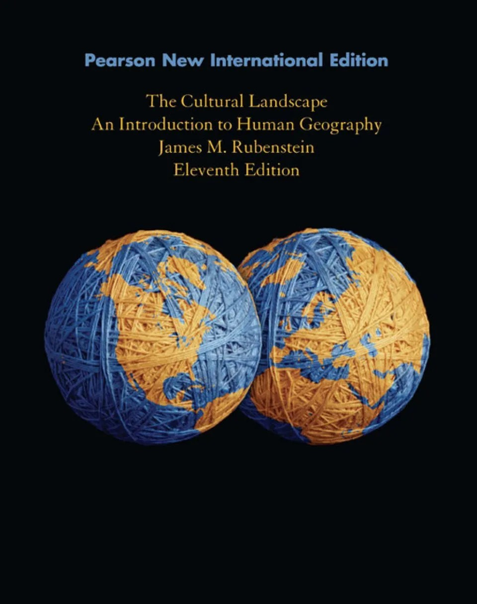 Book Services Ltd The Cultural Landscape An Introduction To Human Geography