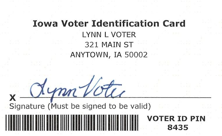 New State-Issued Voter ID Cards Going Out in the Mail to Thousands