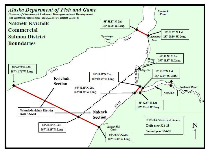 Naknek River Special Harvest Area\u0027s tight fishing ground draws