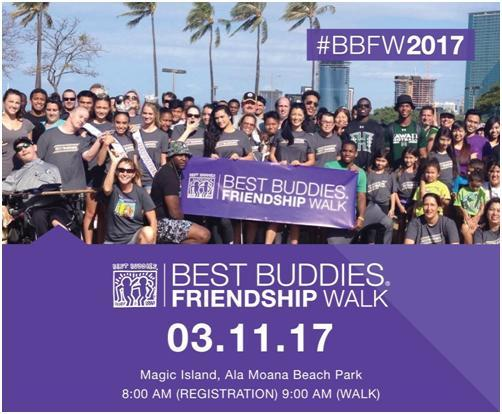 Helping Hand - Best Buddies Hawaii 2017 Maui Block Party  Honolulu