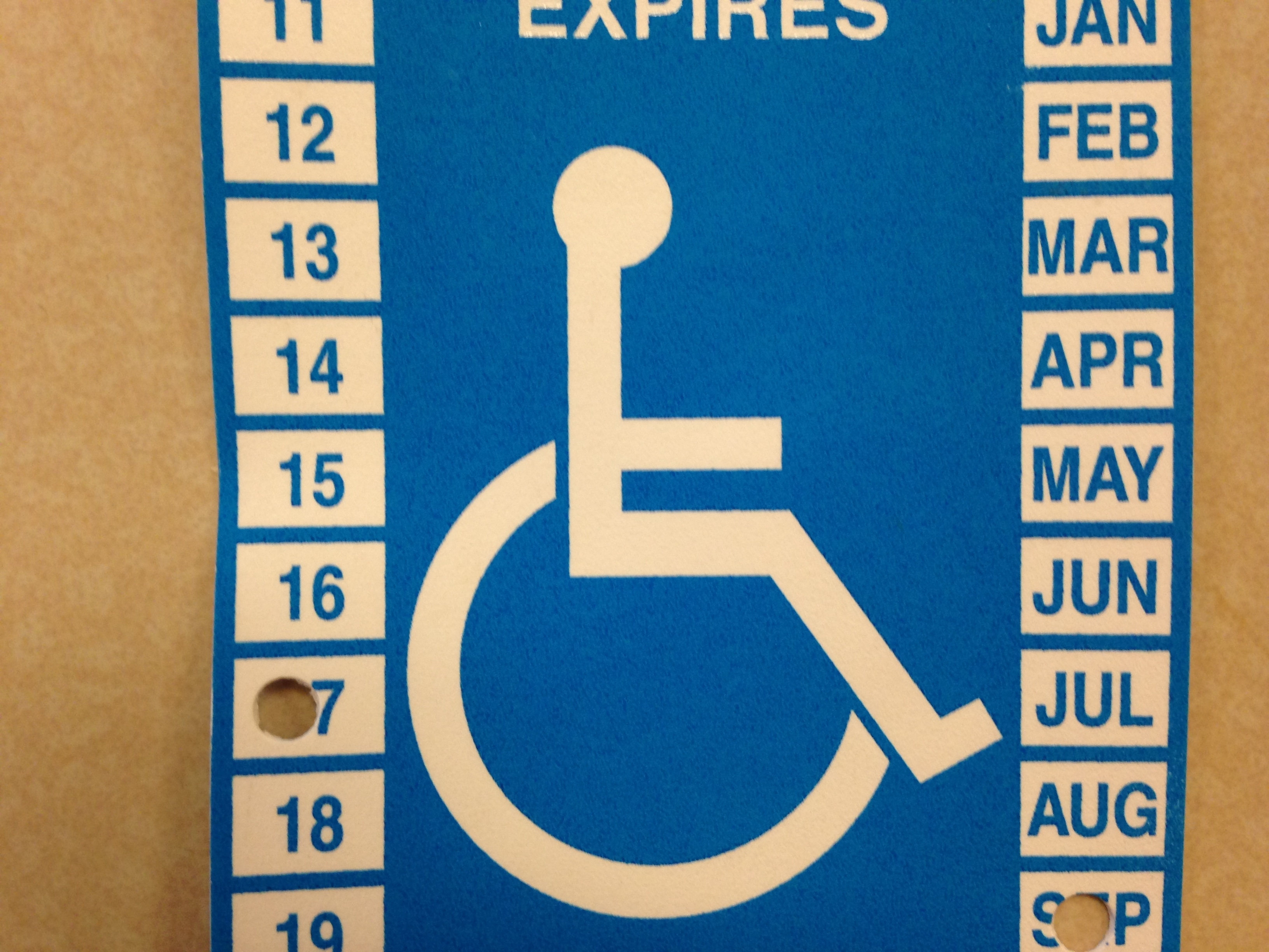 Placard Rampant Washington Law To Crackdown On Handicap Parking Abuse Knkx