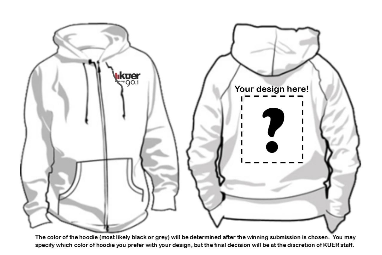 grey hoodie template