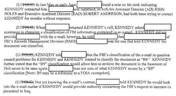 State Department And FBI Deny \u0027Quid Pro Quo\u0027 On Email Classification