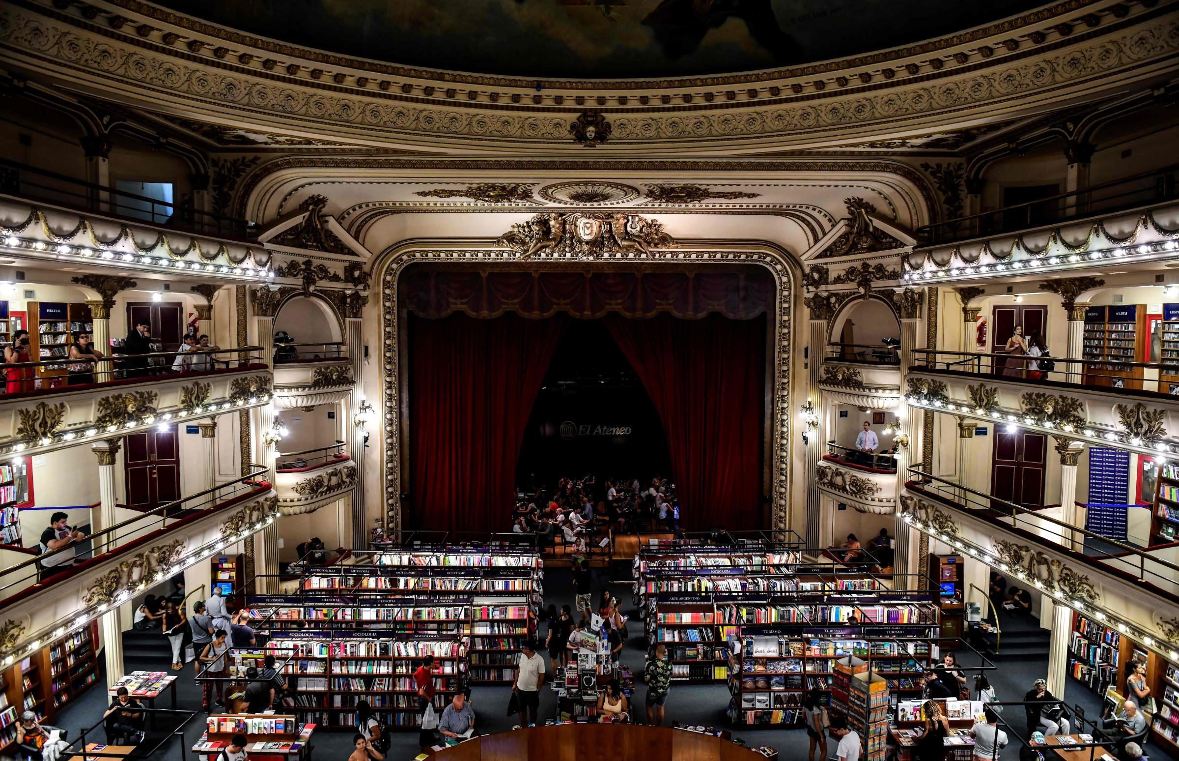 Arte Concert Opera De Paris Inside The World S Most Beautiful Bookstore In Argentina