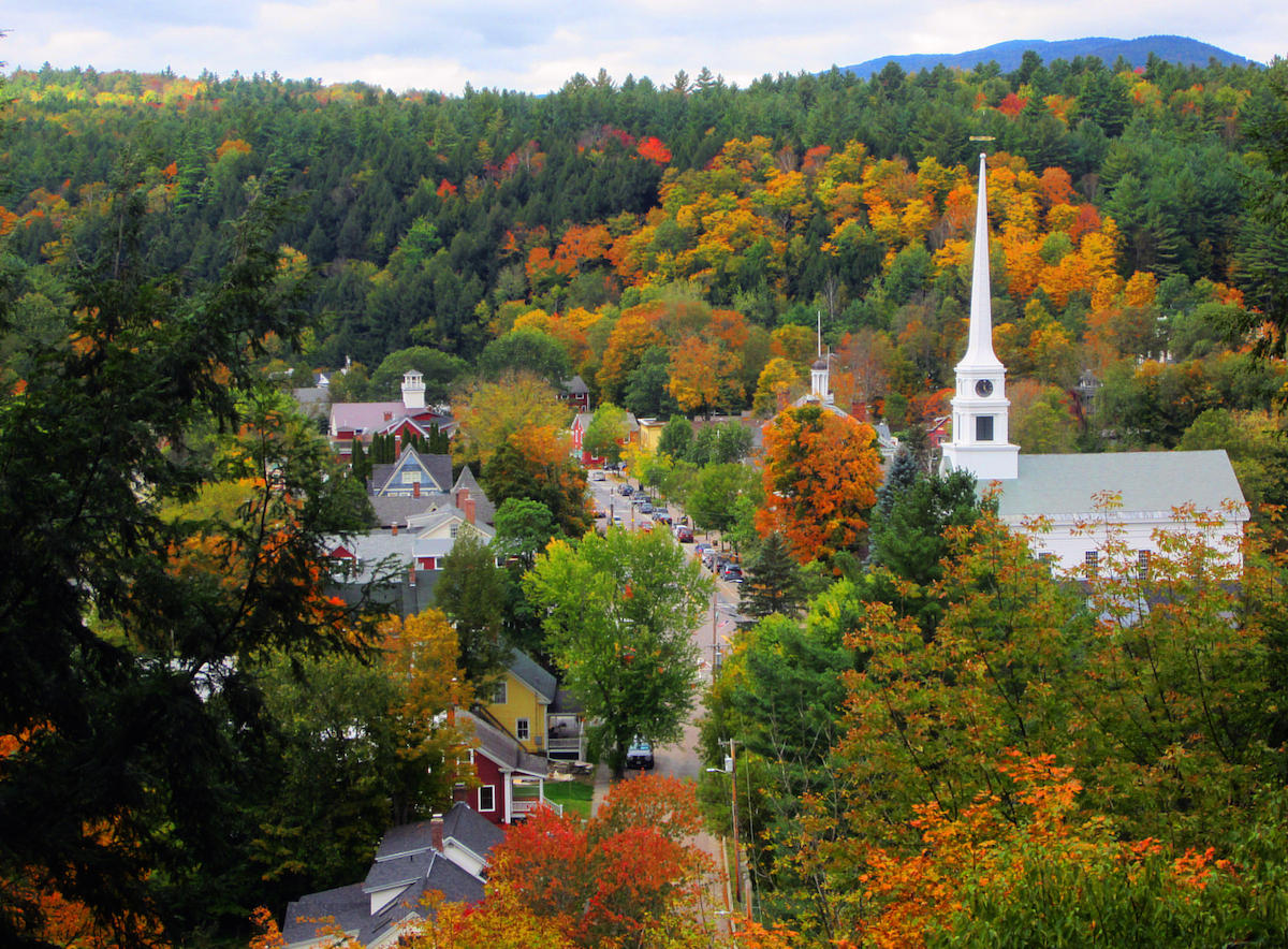 Vermont Fall Foliage Wallpaper Look Out Burlington Google Has Named Stowe Vermont S