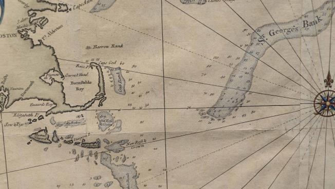 Map of First Cape Cod \u0027Canal\u0027 To Be Auctioned WCAI