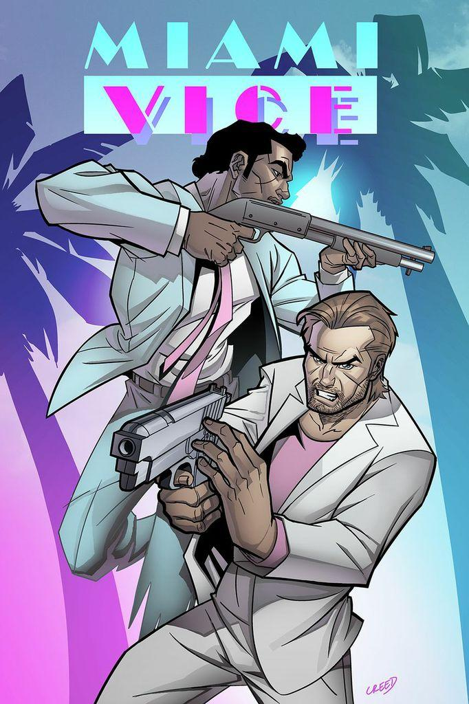 Lion Live Wallpaper Iphone The Return Of Tv S Miami Vice As A Digital Comic Book Wlrn