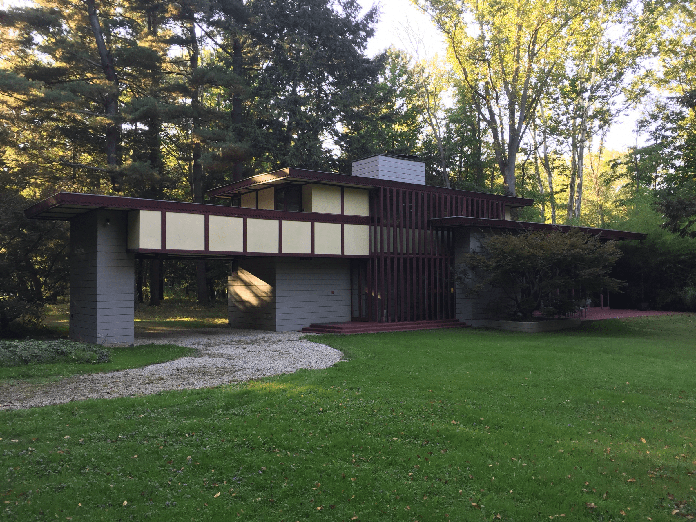 Frank Lloyd Wright Historic Frank Lloyd Wright House Goes Up For Sale In Cleveland