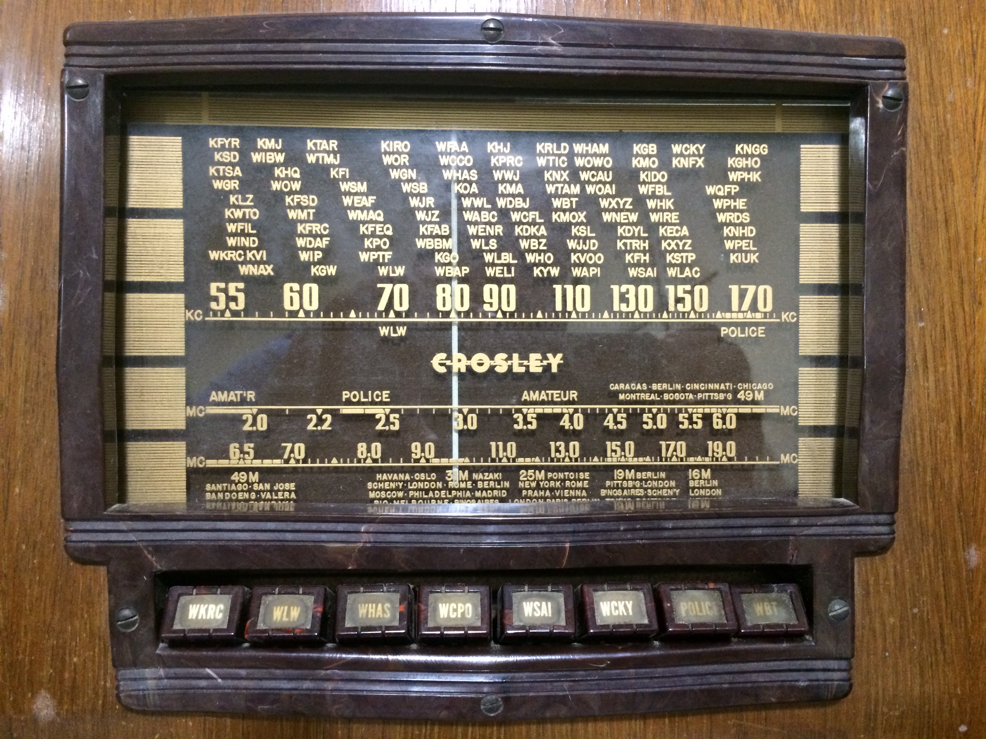 Crosley Radio Voa Museum Looking For Crosley Items Volunteers Wvxu