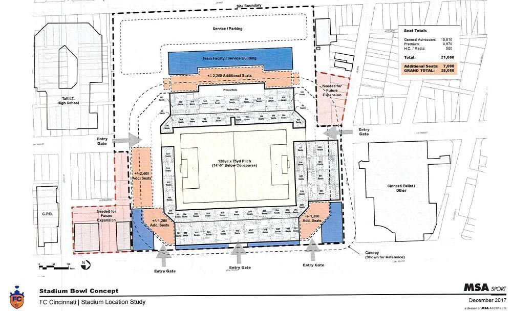 Soccer Stadium Concept Shows West End Footprint WVXU