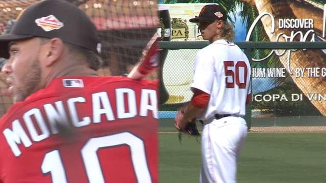 Chris Sale traded to Red Sox for Yoan Moncada Chicago White Sox - fresh baseball training blueprint