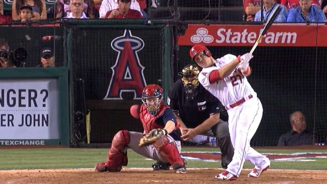 Mike Trout on pace to be an all-time great Los Angeles Angels - fresh baseball training blueprint