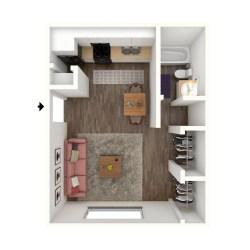 Small Crop Of Average Studio Apartment Size