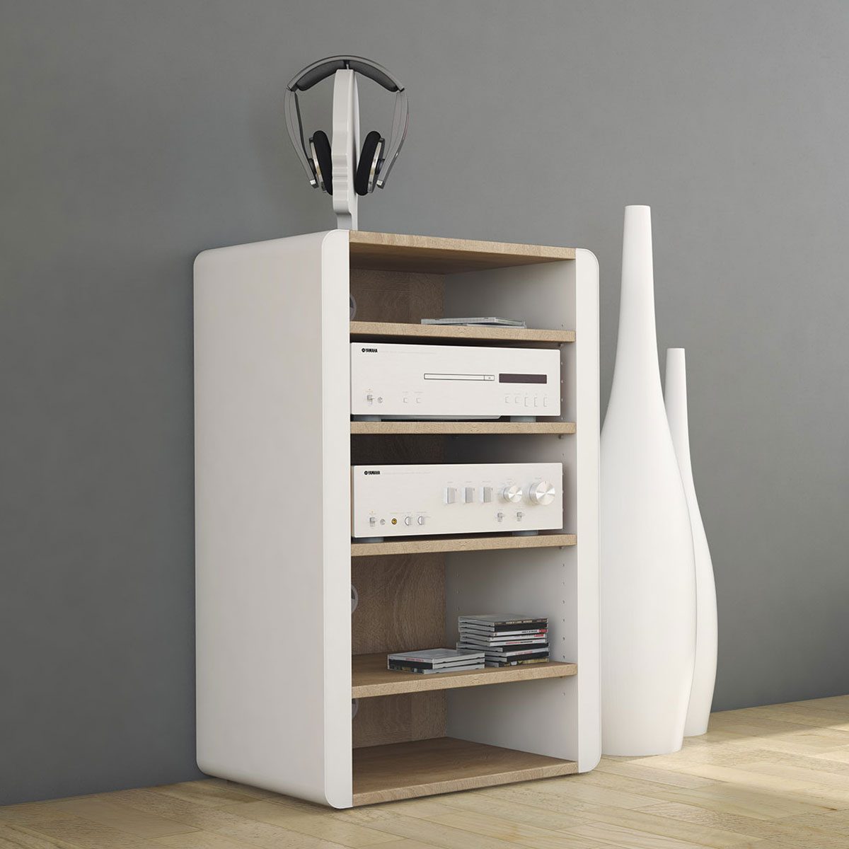 Regal Nussbaum Schnepel Elf-line Hifi-rack