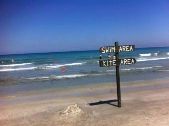 Plaja din Kos, insula unde lucreaza mama Andreei