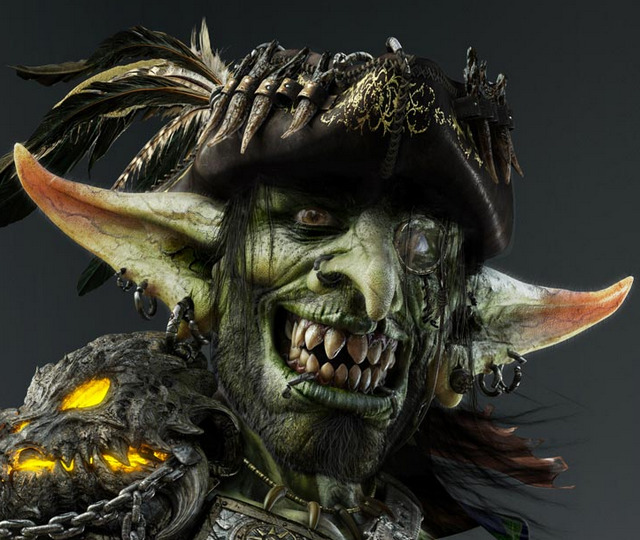 Adobe Images Search Robin Benes Aka Tes3d Un Gobelin Pirate Sous Zbrush 3dvf
