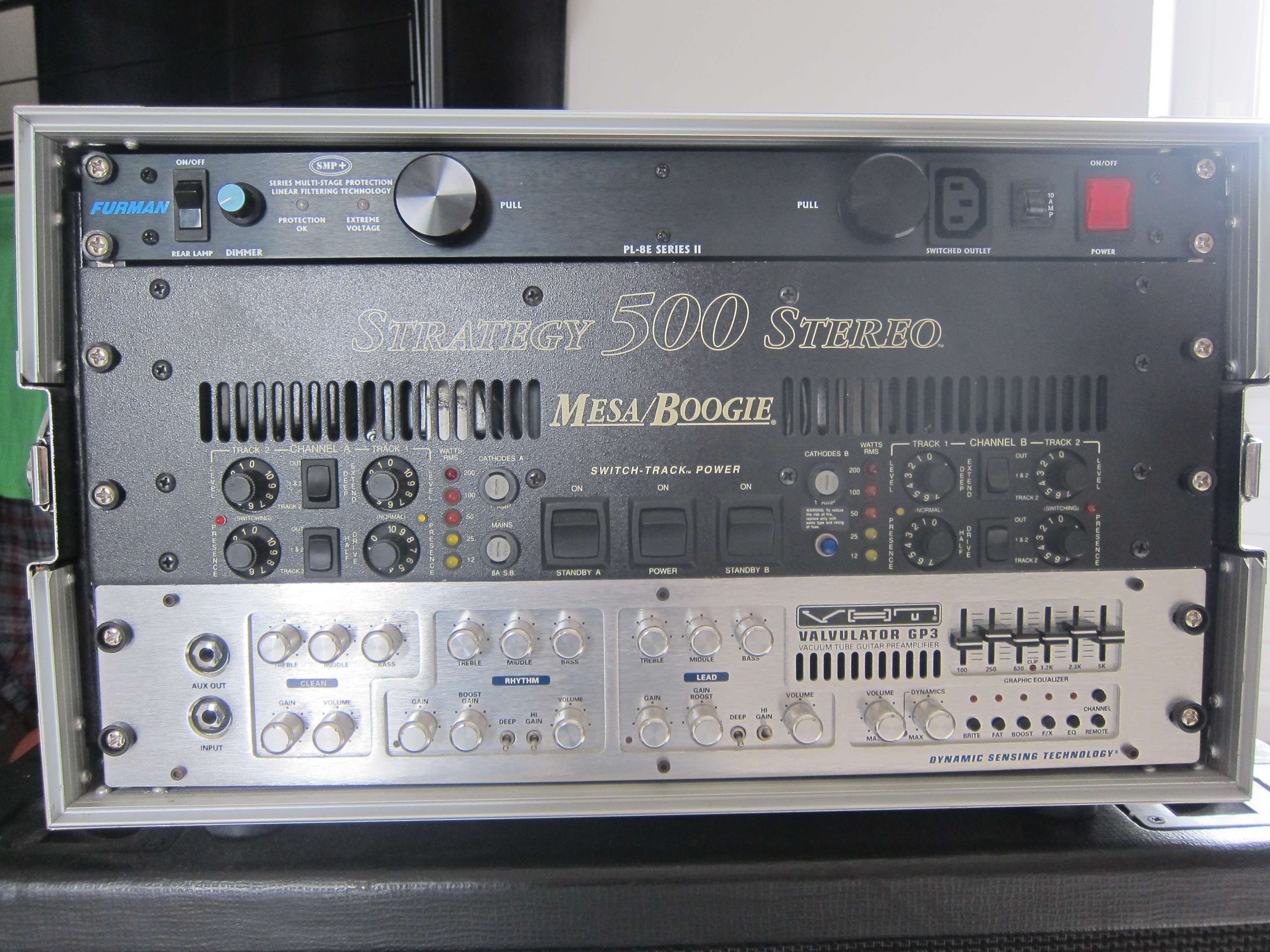Mesa Audio Mesa Boogie Strategy 500 Stereo Image 1652550