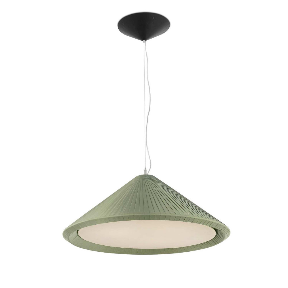Suspension Contemporaine Hue In Ø700 Suspension Vert Olive
