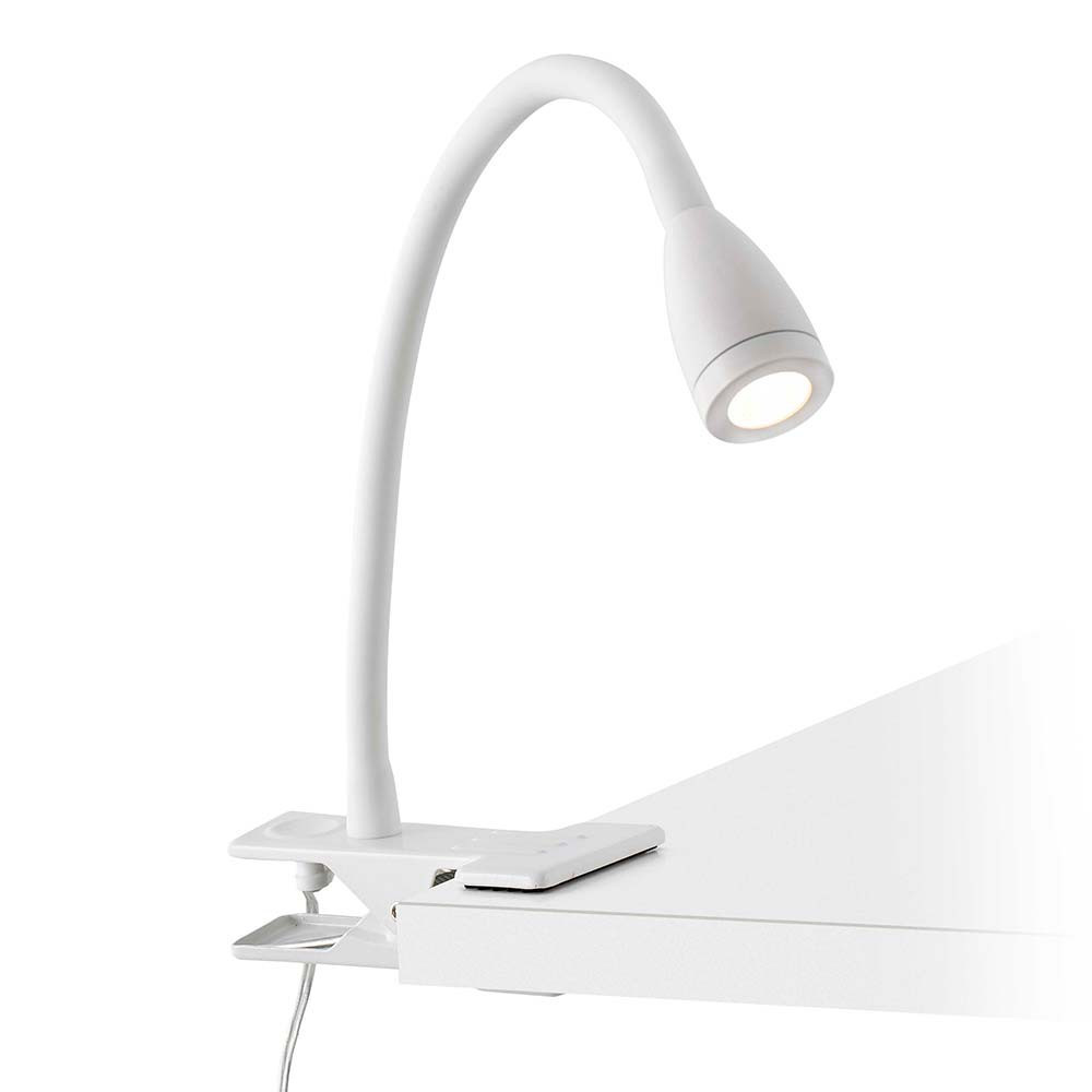 Spot Led A Pince Lampe Led Pince Flexible Blanche