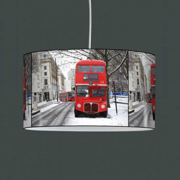 Eclairage Led Chambre Lampe Suspension Bus Rouge Londres