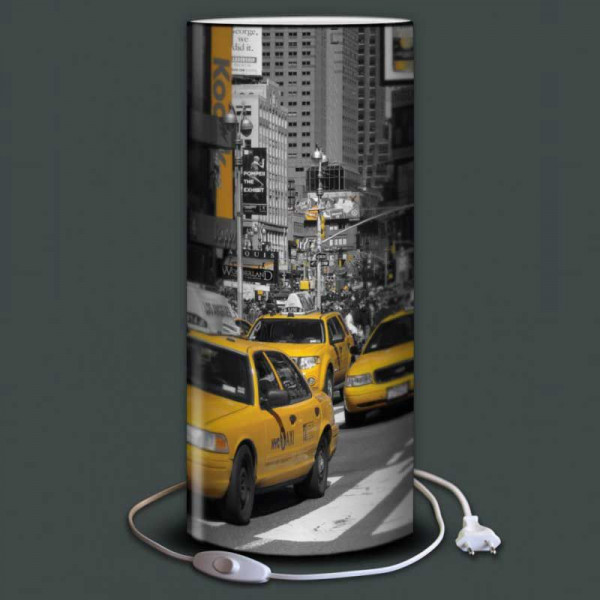 Lampe Eclairage Led Lampe Taxi Jaune New York, 4 Tailles Disponibles