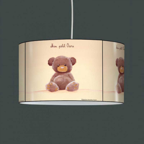 Borne Exterieur Suspension Nounours Enfant