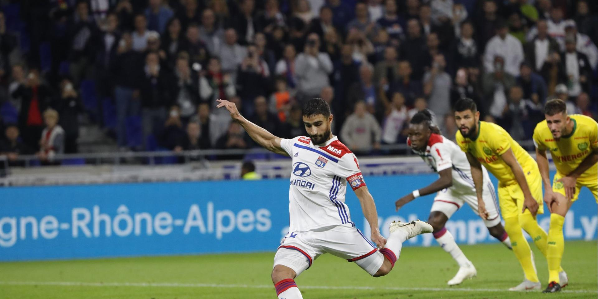 Lyon Nantes Les Notes De Lyon Nantes Foot Ligue 1