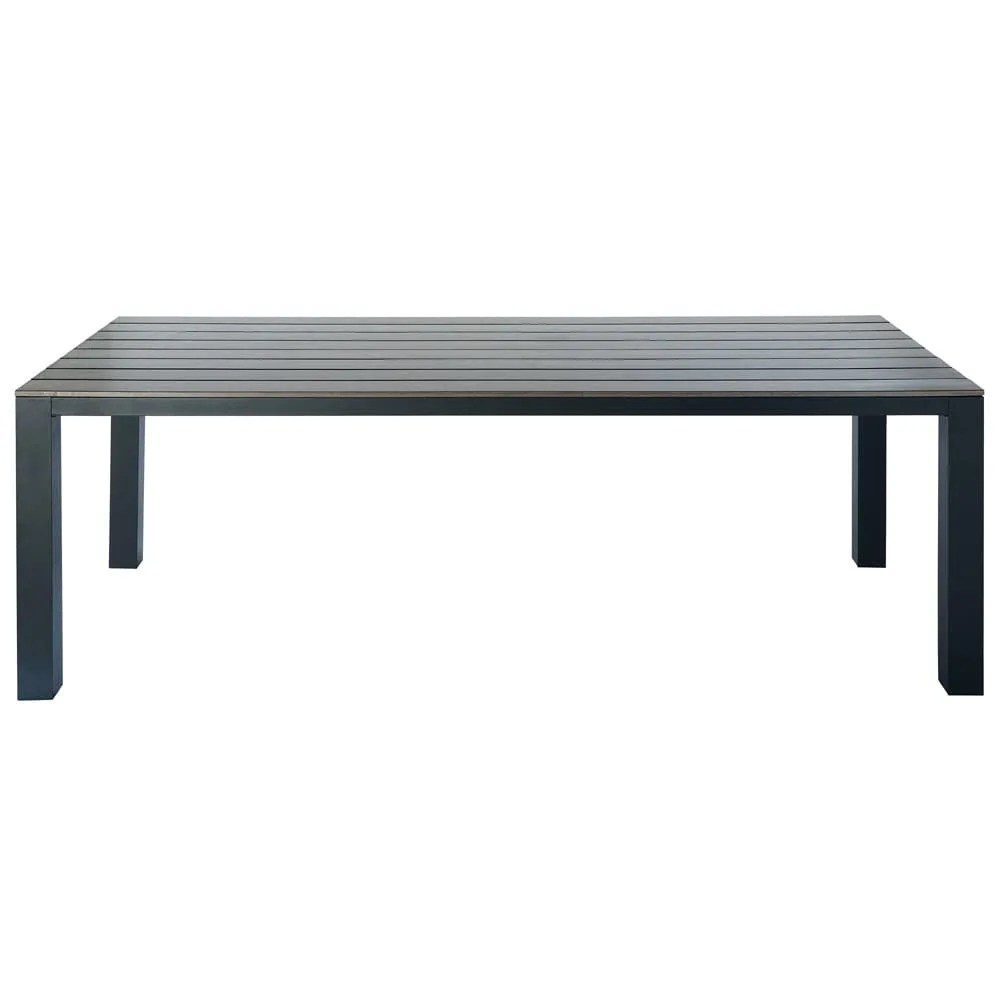 Table Jardin Gris Anthracite Anthracite Grey Garden Table 8 10 Seater In Aluminium W 230
