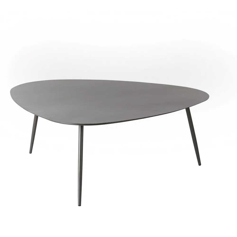 Table Jardin Gris Anthracite Anthracite Grey Metal Vintage Garden Coffee Table