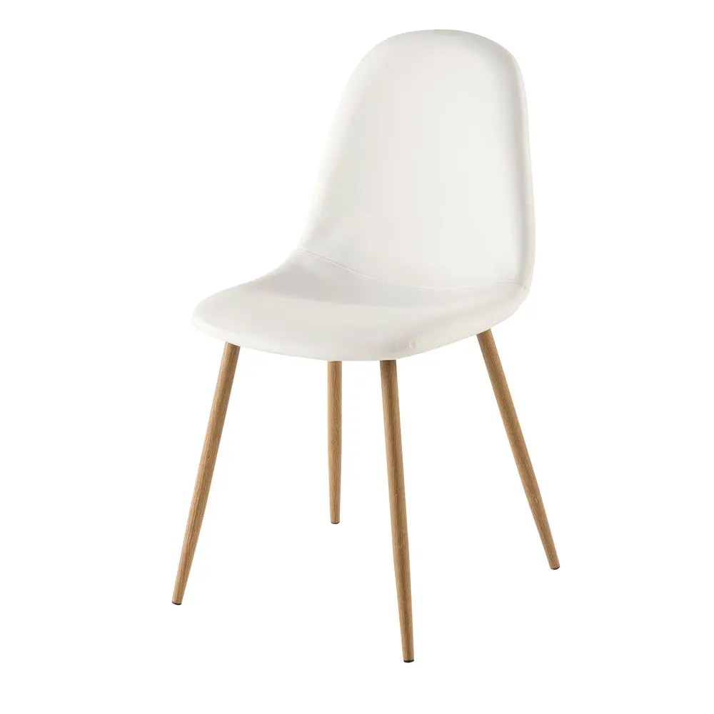 Chaises Blanche Scandinave Chaise Style Scandinave Blanche