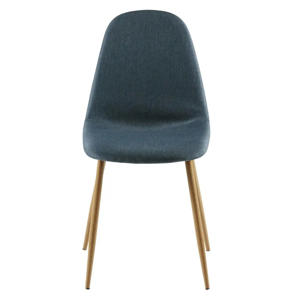 Mille Chaises Chaise Style Scandinave Bleu Jean