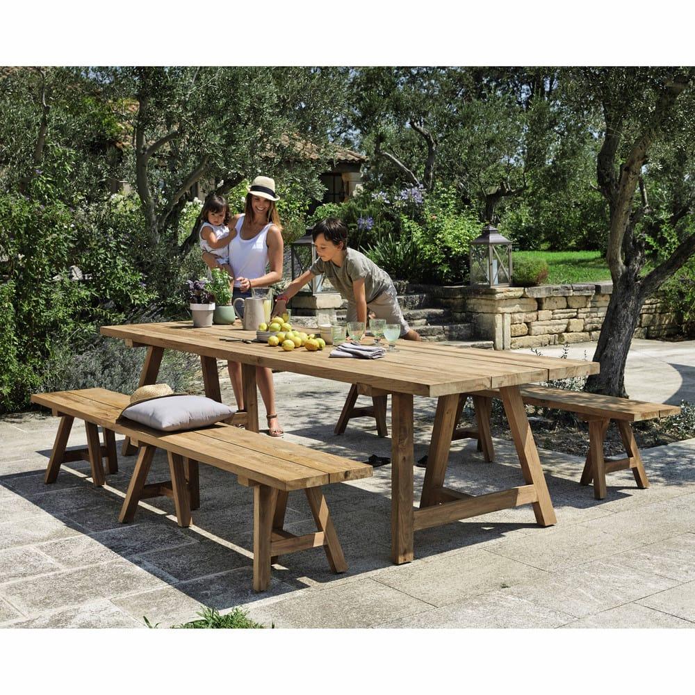 Gartentisch 12 Personen Kettler Gartentisch 240x95 Cm Teakholz