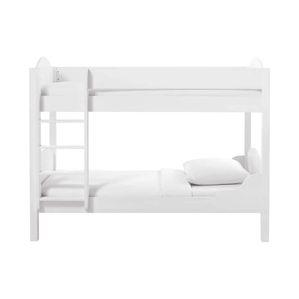 Lit Superpose Blanc Lit Superposé 90x190 Blanc