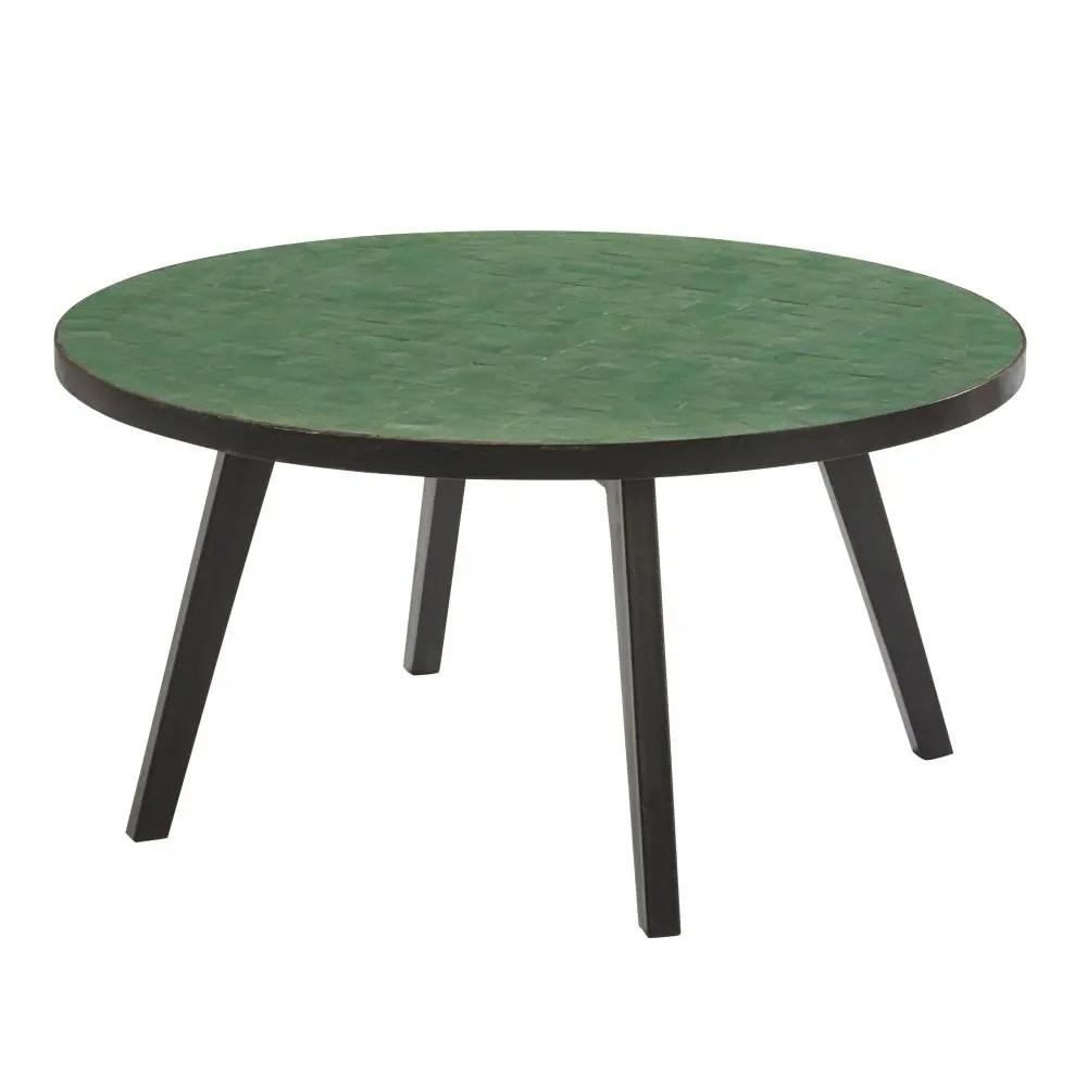 Table Jardin Mosaique Ronde
