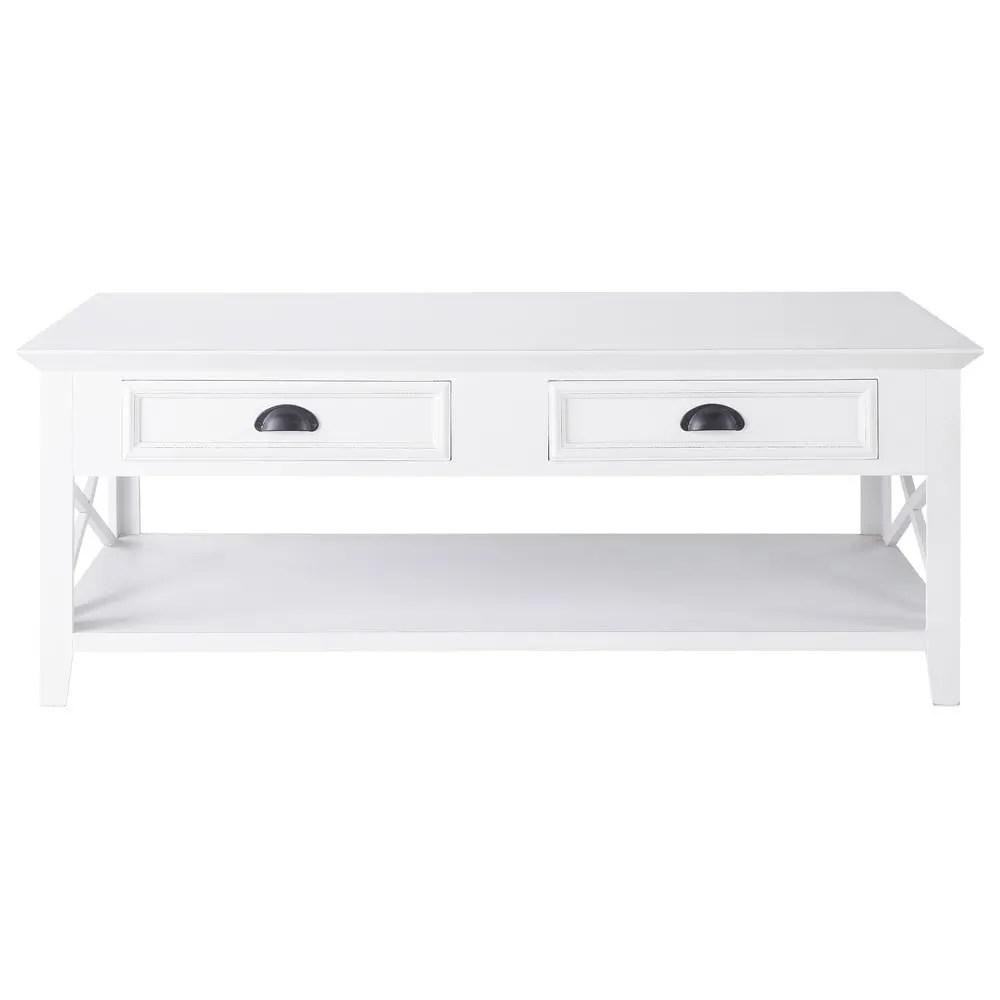 Table Basse Marine | Emejing Table Basse Blanc Style Marin Photos ...