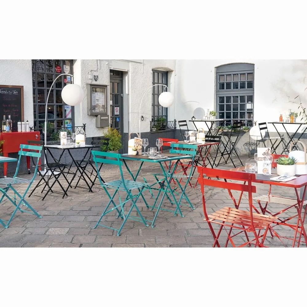Table De Jardin Rouge   Chaise De Jardin Rouge Chaise De Cuisine Design