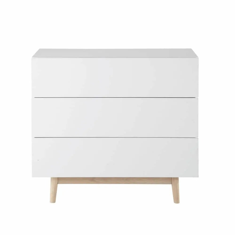 Cassettiere Vintage Maison Du Monde Vintage Chest Of Drawers In White