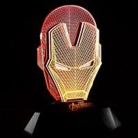 LAMPE - MARVEL - Iron Man LED 3D - DIVERS