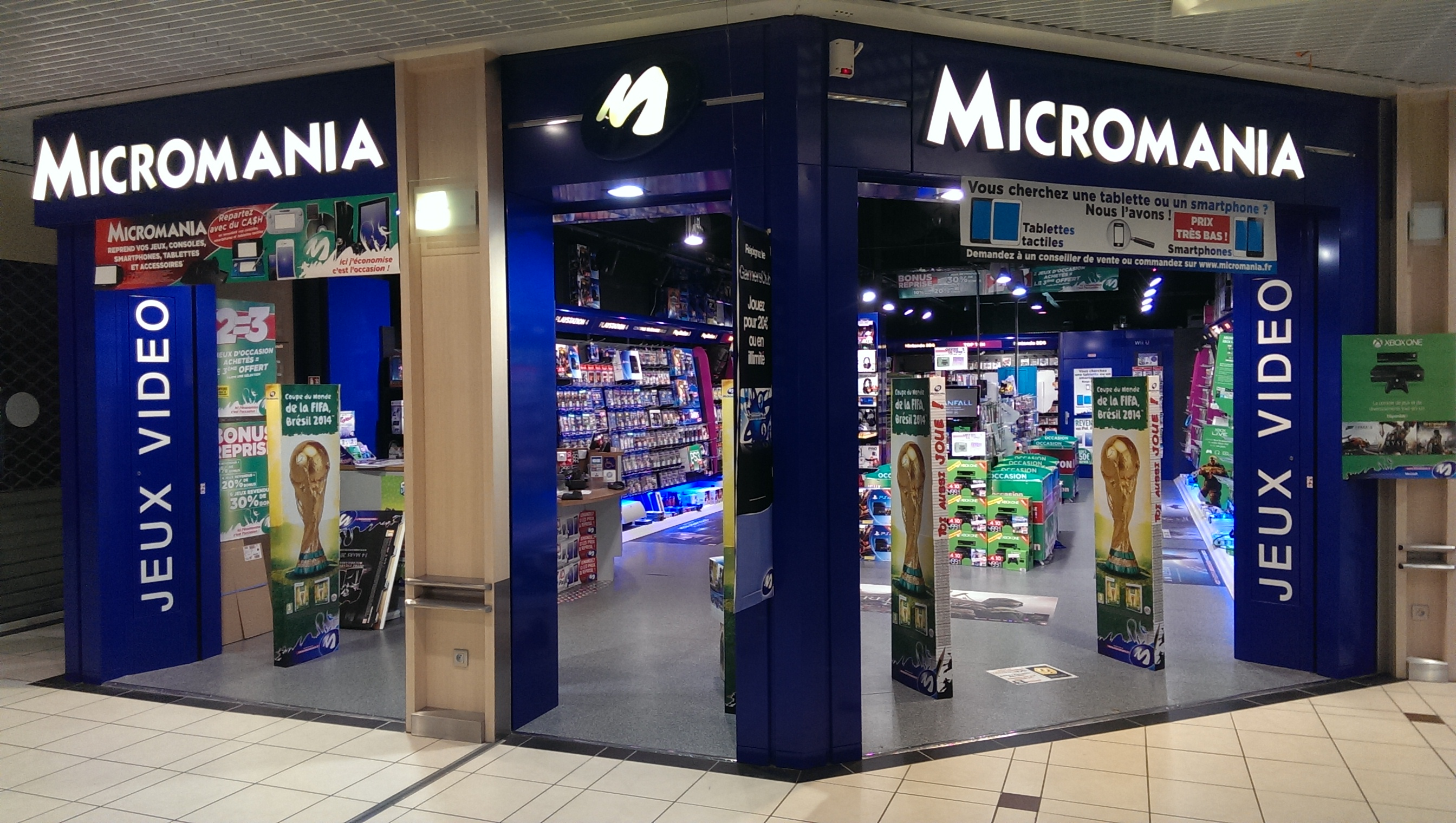 Roques Centre Commercial Magasin Micromania Roques Infos Et Adresse Micromania