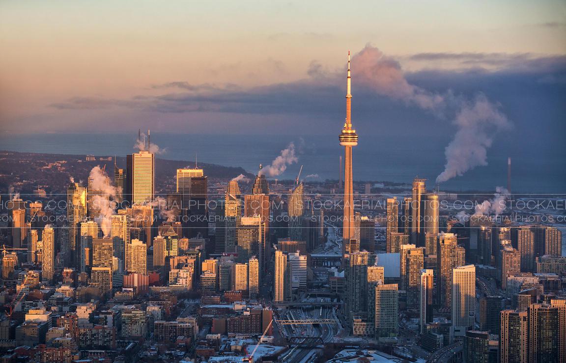 Skyscraper Wallpaper Hd Aerial Photo Toronto City Skyline 2015