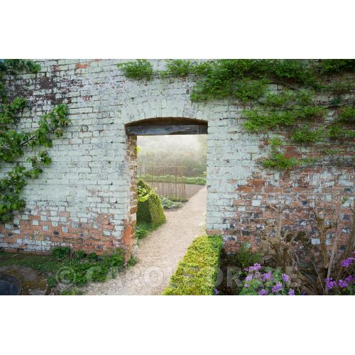 Medium Crop Of Walled Vegetable Garden