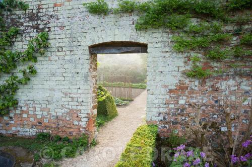 Medium Of Walled Vegetable Garden