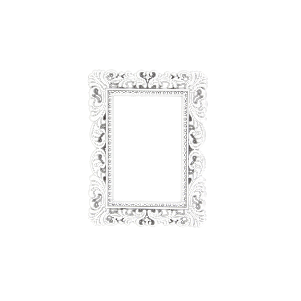 Cadre Photo Magnet Magnetic Photo Frame Magnetic Frame Silver