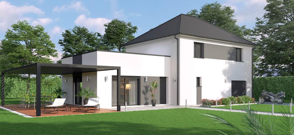 Plan de Maison Moderne  caractéristiques et options - Plan De Maison Moderne