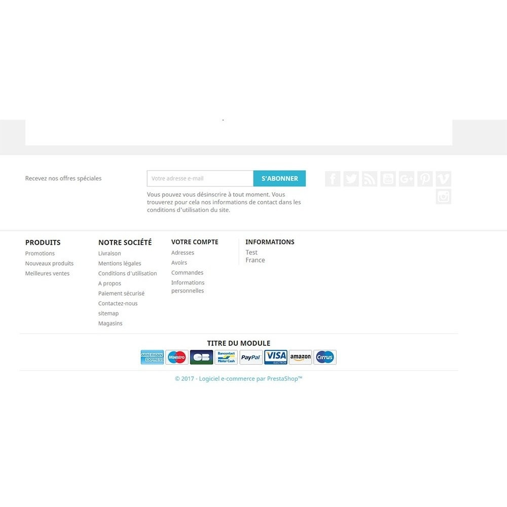 Amazon Usa Livraison France Payment Logo Footer Module