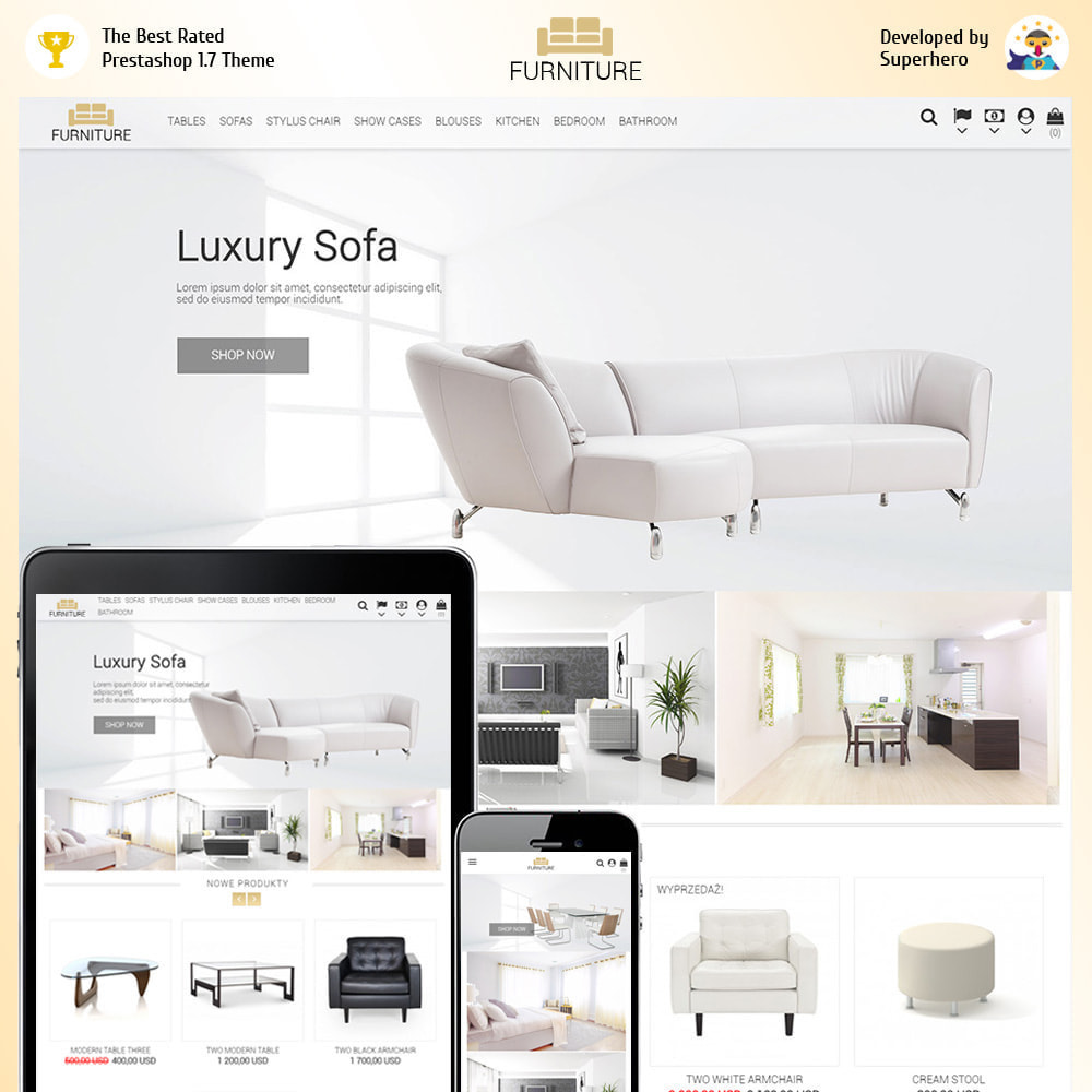 Furniture Store Prestashop Addons