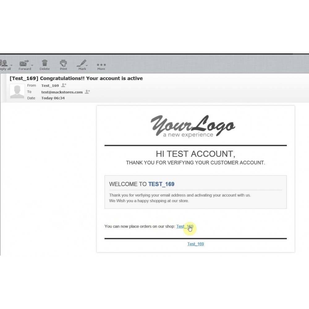 account form template