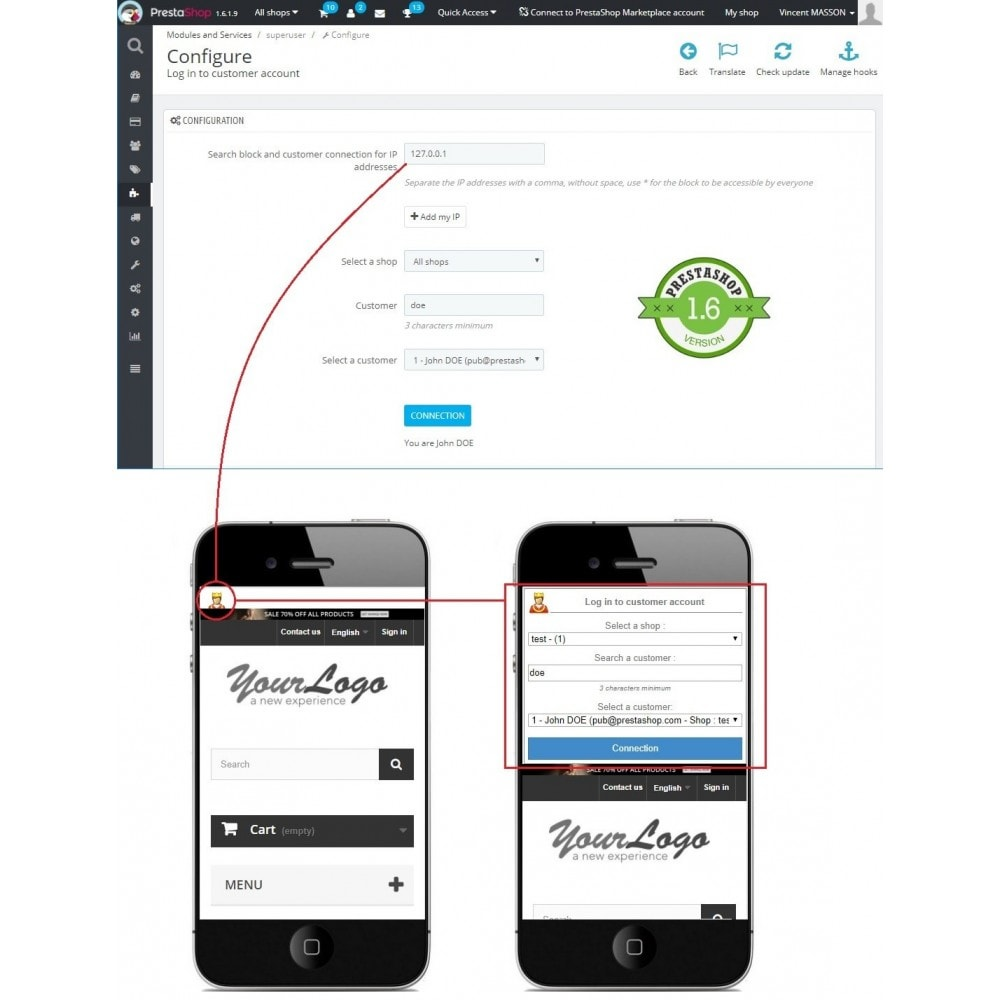 Shop customer account create/downloader - Shop Customer Account Create Download