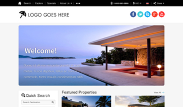 What is the Best Vacation Rental Website Template? - property management websites templates