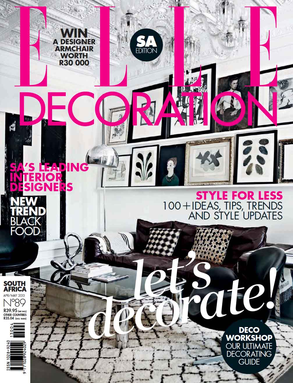 Elle Decoration South Africa Elle Decoration South Africa April May 2013 Mediaslut